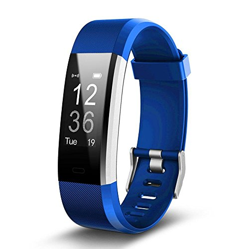 JSGDSH ID115 HR Plus Smart Fitness Braccialetto Sport Pedometro Cardiofrequenzimetro Wristband per Xiaomi Mi Band 2 Honor Band 3