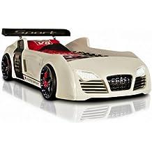 Autobett Turbo V8 (Weiß)