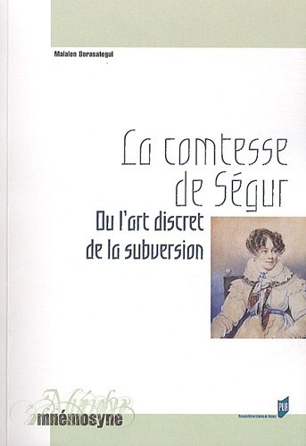 La comtesse de Ségur ou l'art discret de la subversion