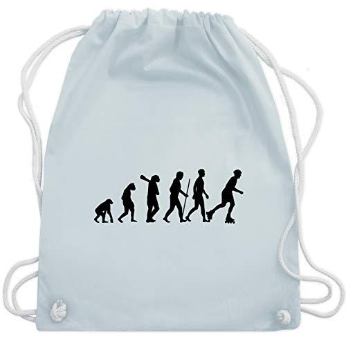 Evolution - Inliner Evolution - Unisize - Pastell Blau - WM110 - Turnbeutel & Gym Bag