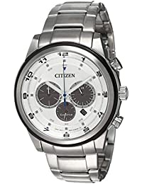 Citizen Eco-Drive Analog White Dial Men's Watch - CA4034-50A