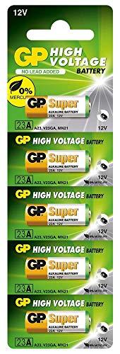 GP Batteries - 106314 Ultra Alkaline 23AE Household Battery Single-use Battery A23 Alkali 12 V - Batterien (Single-use Battery, A23, Alkali, Zylindrische, 12 V, 1 Stück(e)) 240152