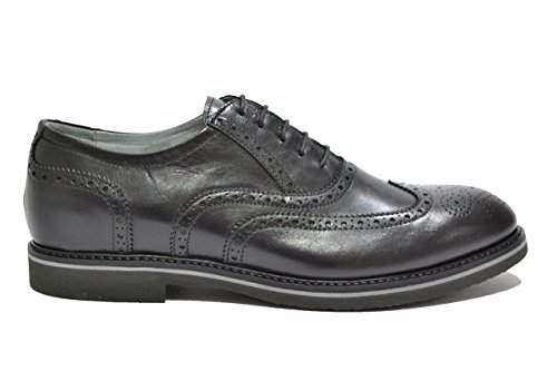 Nero Giardini Francesine scarpe uomo nero 4840 elegante P704840U 42