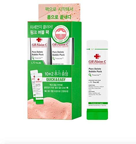 Cell Fusion C Pore   Luftblasen-Satz 12st löschen; Mitesser Entferner; Pore   Vakuum; Pore   Entfernen Maske; Korean Schönheit; Cell Fusion