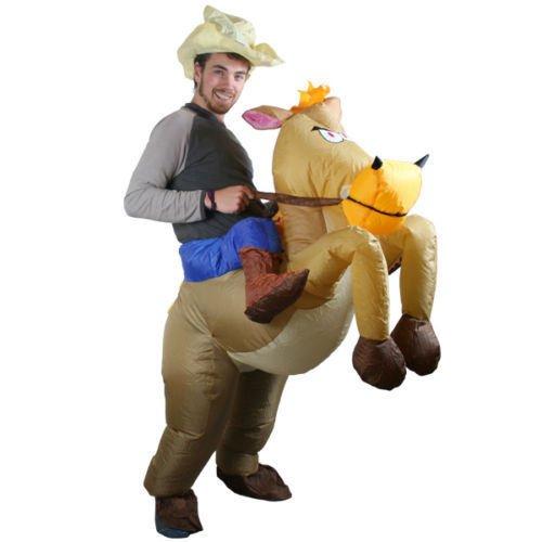 Pferd und Cowboy Cosplay für Fasching Karneval ()