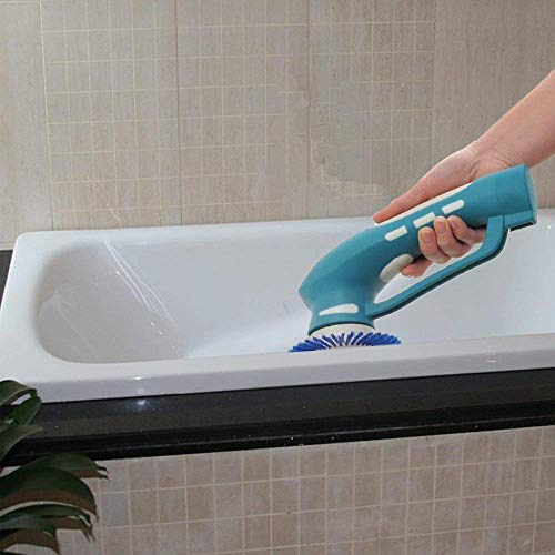 Clean Brush Portable Power Scrubber, Blue