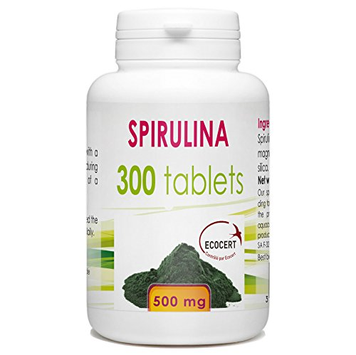 Organic-Spirulina-300-tablets-500-mg