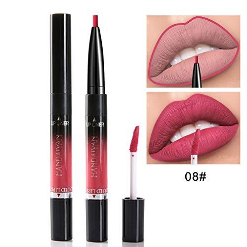 TTLOVE Neue Mode Lipgloss Lippenstift Spiegel Sexy Liquid Lip Gloss halten Lipstick langlebig...
