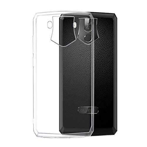 Oukitel k10 Hülle, Transparent TPU Silikon Handyhülle Kratzfest Durchsichtige Schutzhülle Flex Case für Oukitel k10 [Crystal Clear]
