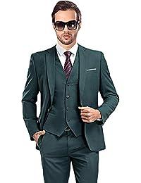 jakcet + Hose + Weste + Tie Mens Formal Slim Fit Anzüge Hochzeit Anzüge Männer S-4xl Alle-jahreszeiten 10 Farbe Terno Masculino Blazer Mit Einem Knopf Anzüge