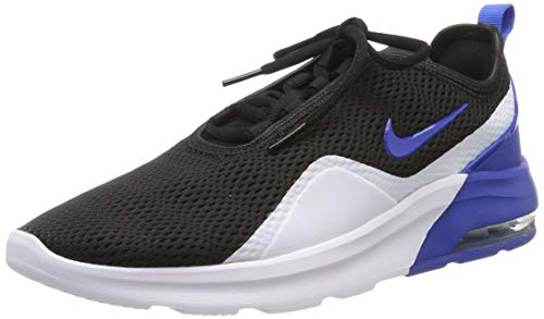 Nike Herren Air Max Motion 2 Laufschuhe, Mehrfarbig (Black/Game Royal/White 001), 41 EU