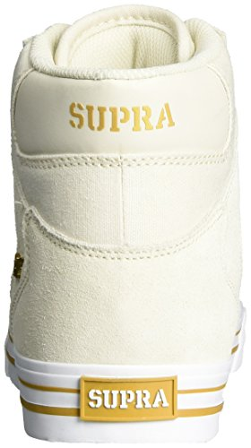 Supra Herren Vaider High-Top Weiß (Off White-White)