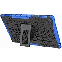 For Huawei MediaPad M5 10.8 inch Case, Heavy Duty Rugged Armor Defender Drop Protection Kickstand Tablet Back Cover