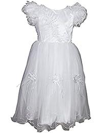 Flower Wedding Bridesmaid Party Communion Girls Dress Age 0 Months - 13 Years 40