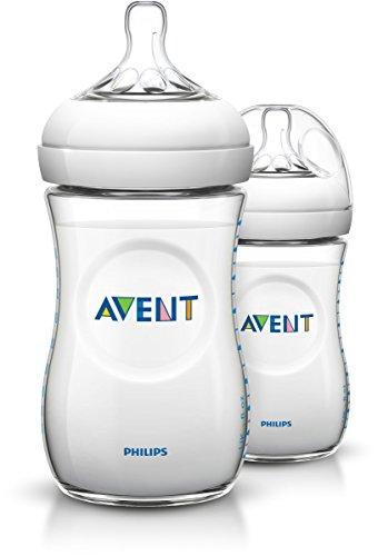 Philips AVENT Natural SCF693/37 260 ml Feeding Bottle 1 month+ (Pack of 3)