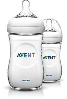 Philips Avent SCF693/27 Naturnah-Flasche, transparent, 2er Pack (2 x 260 ml) (B009LJJNVI) | Amazon Products