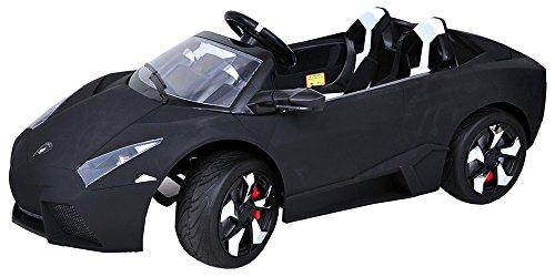 Jay Battery Operated Ride on Lamborgini Sports Car Black