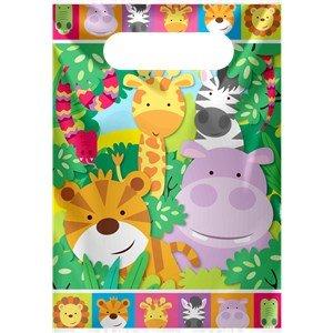 pochettes-a-cadeaux-animaux-de-la-jungle-x8