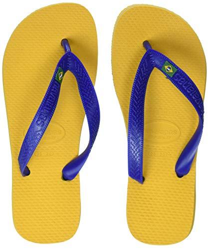 Havaianas Unisex-Erwachsene Brasil Zehentrenner, (Banana Yellow 1652), 37/38 EU