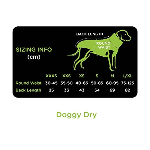 EQDOG 382-772 Doggy Dry Hundebademantel, XXS, gelb - 4