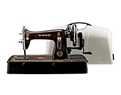 Usha Bandhan Deluxe Composite Straight Stitch Machine with cover