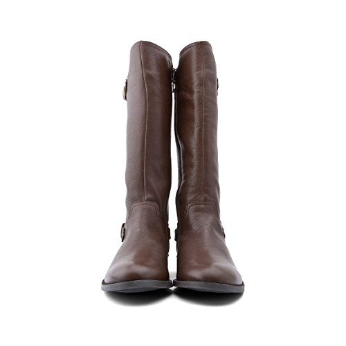 Start Rite Cavaletti - Bottes fille cuir Marron