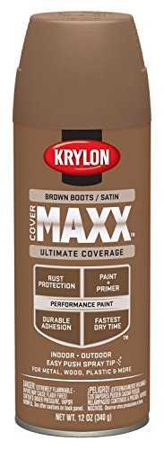 krylon-k09160000-covermaxx-spray-paint-satin-brown-boots-by-krylon