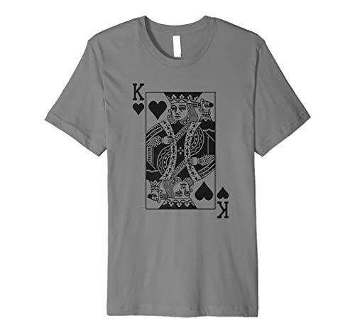 King of Hearts T-Shirt Halloween Kostüm Idee 2017