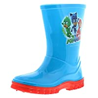 PJ MASKS New Boys/Childrens Blue PVC Wellington Boots - Blue - UK Sizes 5-10