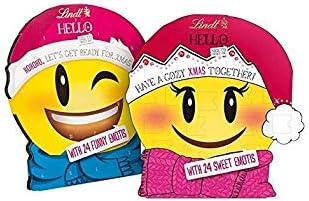 Lindt HELLO Adventskalender Mini Emoti, 1er Pack (1 x 145 g)
