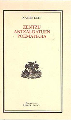 Zentzu Antzaldatuen Poematigia (B.B.K.)