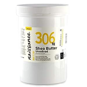 Naissance Manteca de Karité BIO n. º 306 – 500g – Pura, natural, certificada ecológicamente, sin refinar, elaborada de…