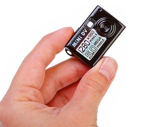 Flylinktech Mini HD Spionage Kamera DVR Überwachungs Kamera winzige Spionkamera Videoauflösung: 720 * 480p