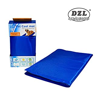 DZL - Cooler Blanket for Dogs, 90 x 50 cm Reduces the Body Thermal Sensation DZL – Cooler Blanket for Dogs, 90 x 50 cm Reduces the Body Thermal Sensation 41uu9KmD7 2BL