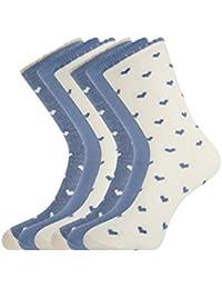 oodji Ultra Mujer Calcetines (Pack de 6)