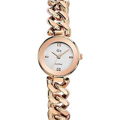 Reloj Cuarzo GO Girl Only para Mujer con Plata Analogico Y Rosa 695014 de Go Girl Only