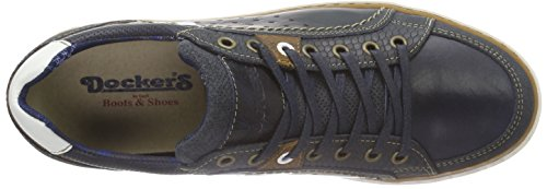 Dockers by Gerli 38po003-182, Baskets Basses Homme Bleu - Bleu (600)