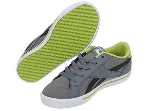 Reebok Bd2502, Sneakers basses mixte enfant Gris