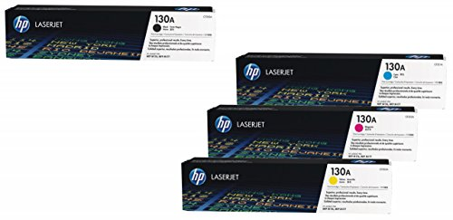Best Hewlett Packard HP Original 130A Toner 4er Set black, cyan, magenta, yellow on Amazon
