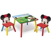 Delta Children Disney - Set Tavolo con 2 sedie per bambini Mickey Mouse - Arredamento - Confronta prezzi