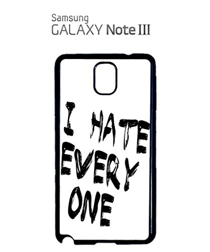 I Hate Every One X ASAP Fresh Mobile Cell Phone Case Samsung Galaxy S4 Black Blanc