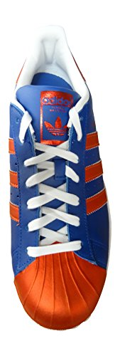 adidas Originals Superstar Metallic Pack sneakers scarpe da ginnastica da uomo CROYAL/CORNAG/FTWWHT S81725