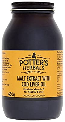 Potters Malt Extract and Cod Liver Oil 650 g by Vifor Pharma