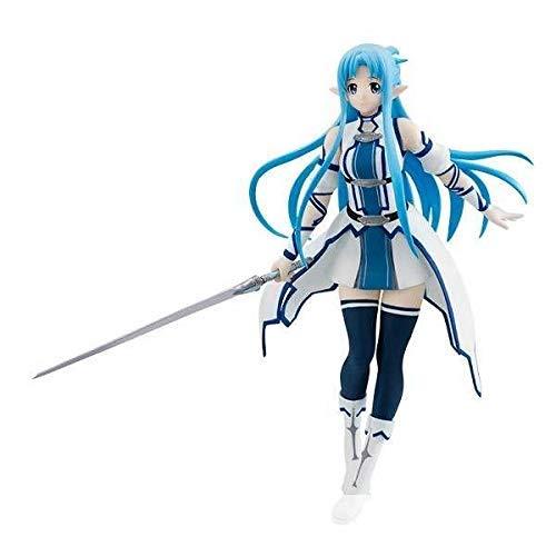 JAPAN OFFICIAL Sword Art Online Asuna Special Figuras Almas furyu Estatua  18 cm Kirito Sinon   57d1eb465885c