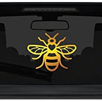 Manchester Bee Sticker - Special Edition Commemorative Gold Chrome Limited Edition