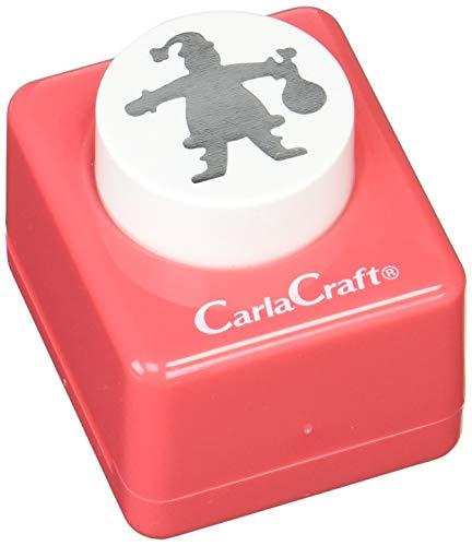 Carl Motivlocher Weihnachtsmann A CarlaCraft CP-2 ca. 2,5 cm