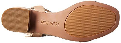 Nine West Noli Robe en cuir Sandale Light Natural