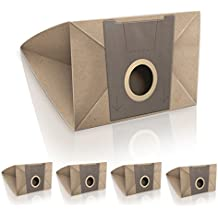 ✧WESSPER® Bolsas de aspiradora para Bosch BSC10 (5 piezas, papel)
