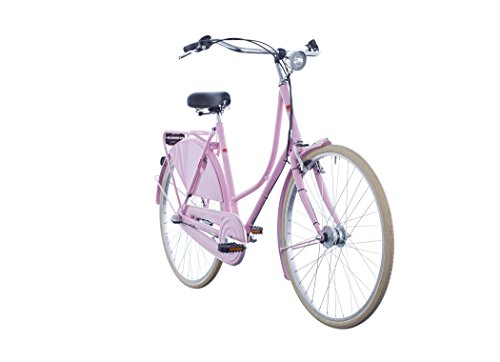 41uuEh01NwL - ORTLER Van Dyck Women rose 2019 City Bike