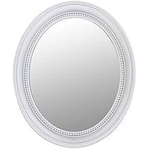 suchergebnis auf f r spiegel oval wei. Black Bedroom Furniture Sets. Home Design Ideas